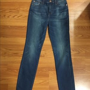 Madewell Jeans/ High Rise Alley straight